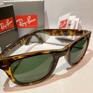🔸️Brown🔸️RAYBAN New Folding Original Wayfarer